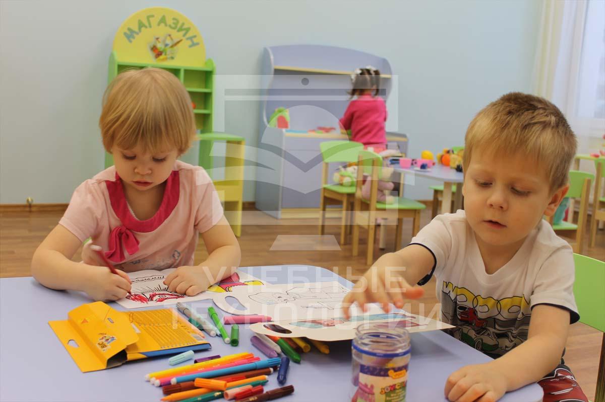 Оснащение детского сада