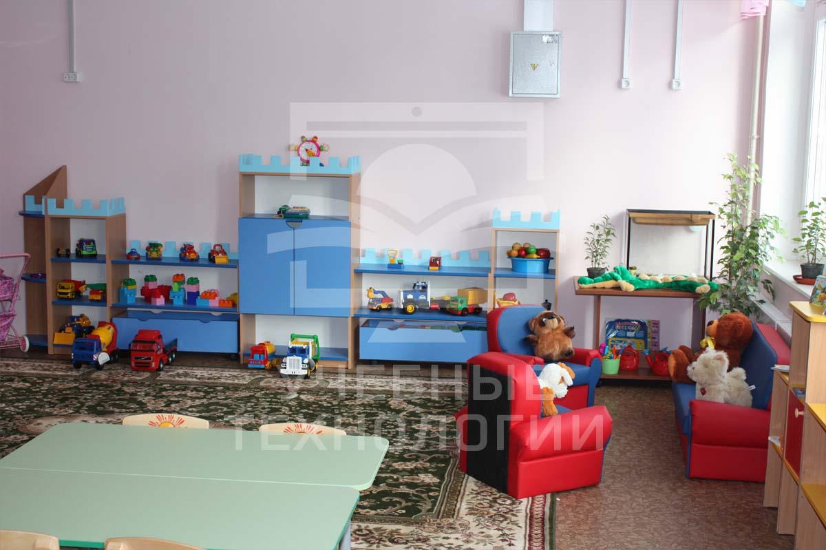 Игровые комнаты детского сада
